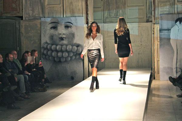 f/w 2014/2015 sfilata, cristina fava stilista, 2 fashion sisters, blogger italia