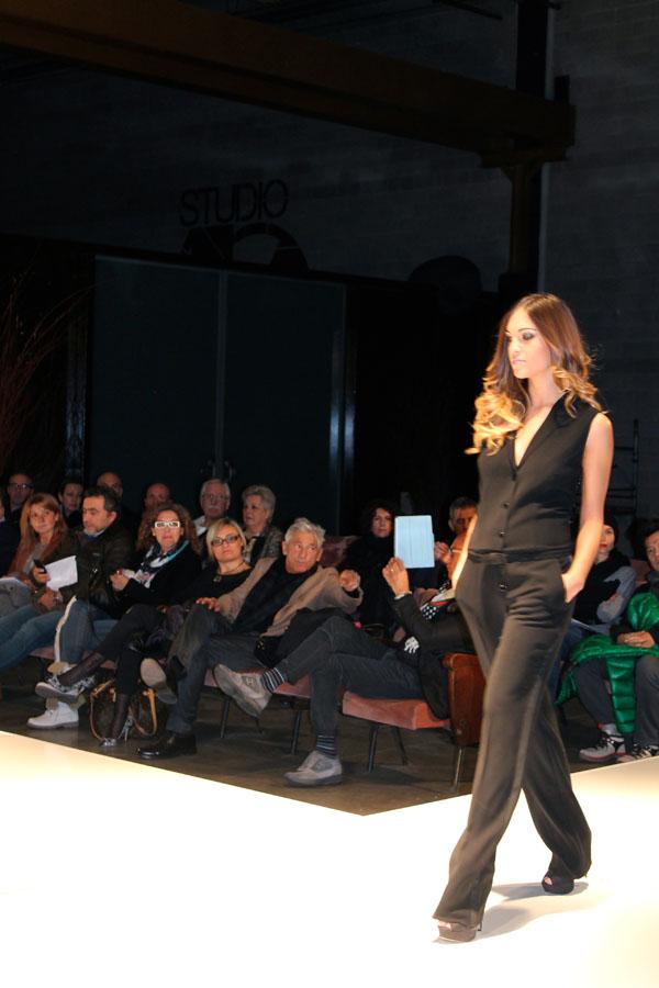 f/w 2014/2015 sfilata, cristina fava stilista, 2 fashion sisters, bologna