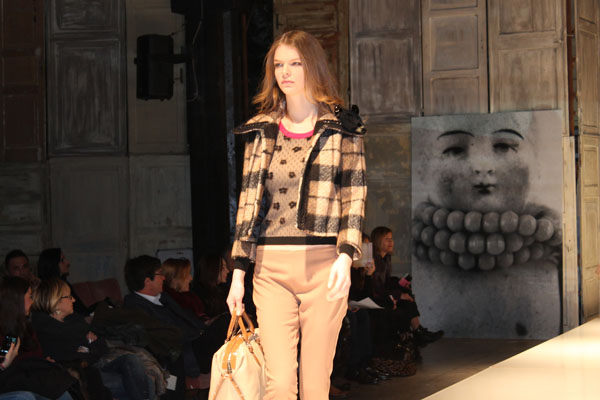 f/w 2014/2015 sfilata, cristina fava stilista, 2 fashion sisters, fashion blog