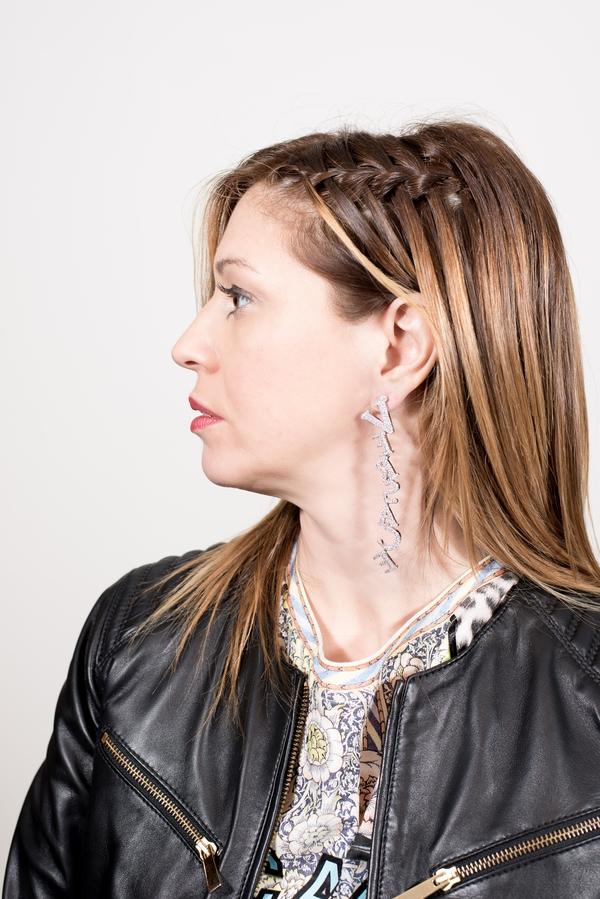cristina lodi, 2 fashion sisters, versace