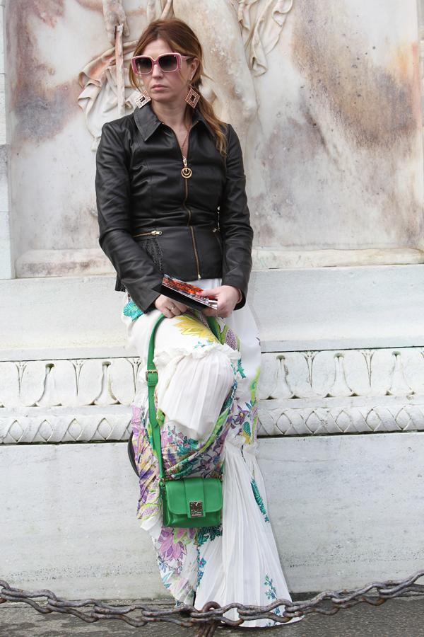 cristina lodi, gonna roberto cavalli, fashion blogger italia, occhiali violavinca
