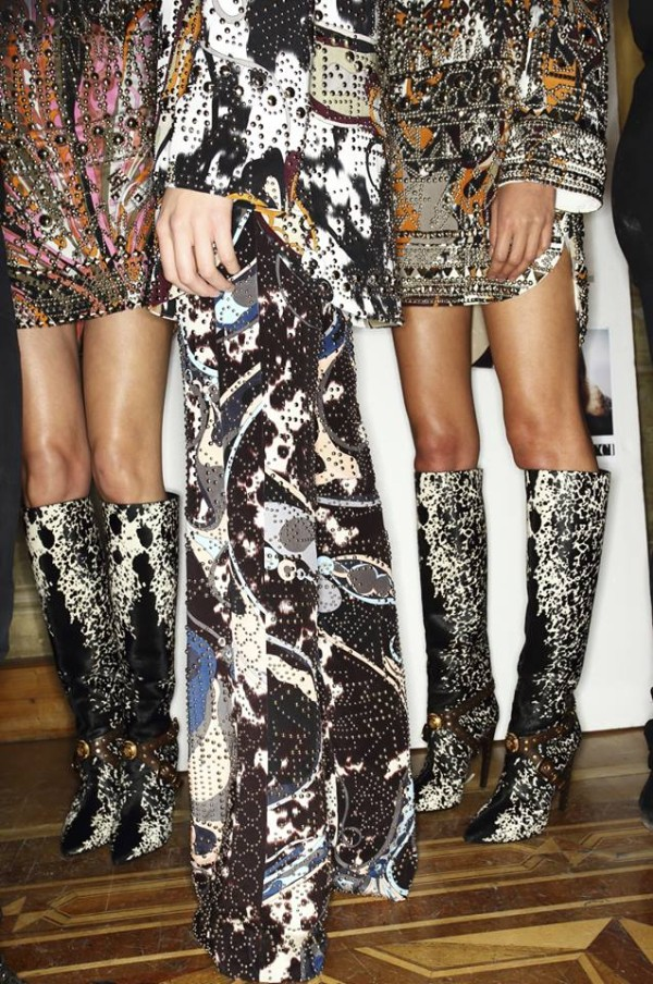 MFW: fashion show Emilio Pucci e party Mia Bag