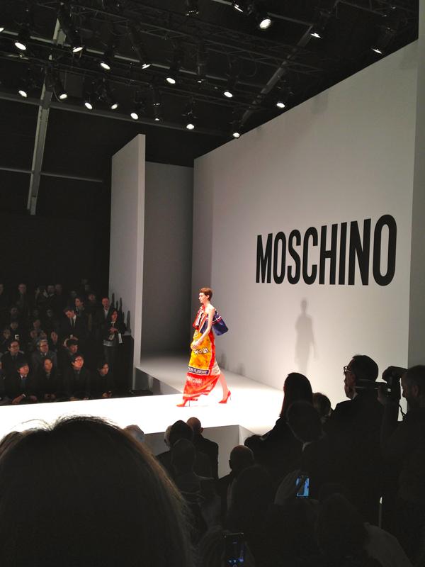 jeremy scott, moschino fashion show