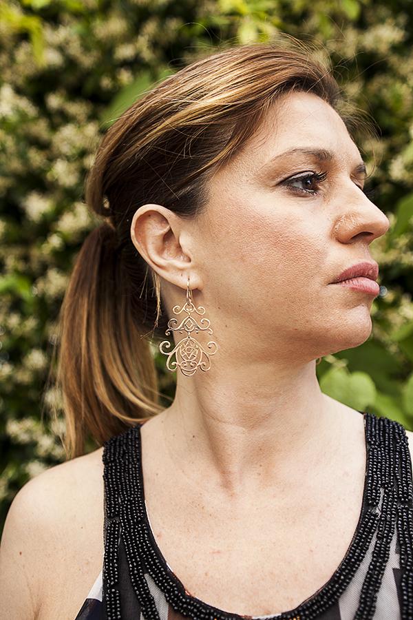 Cristina Lodi, orecchini Morellato