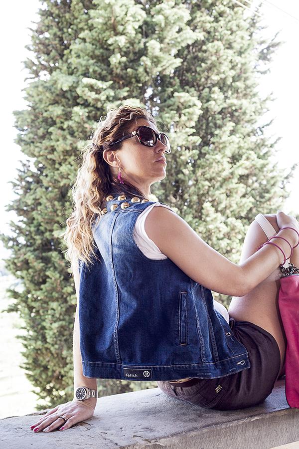 Cristina Lodi, 2 Fashion Sisters, Giubbotto Relish, fashion blogger italia, occhiali moschino