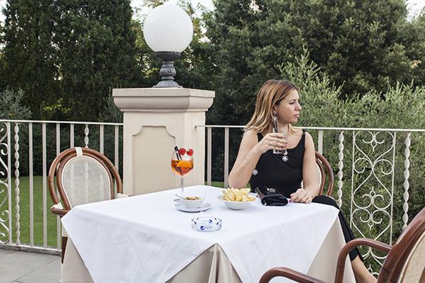 Cristina Lodi, abito lungo Isa Belle, 2 fashion sisters, fashion blogger italia