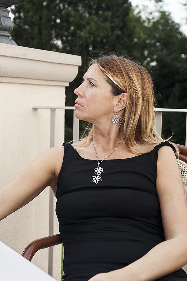 Cristina Lodi, abito lungo Isa Belle,gioielli morellato, 2 fashion sisters, fashion blogger italia