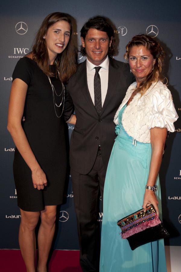 Alessia Trost, Aldo Montano, Cristina Lodi