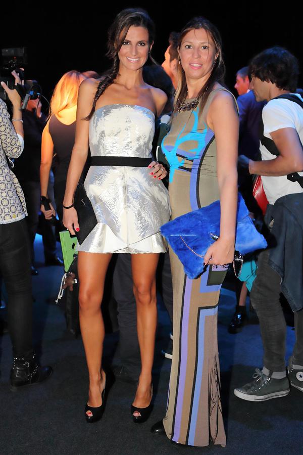 Cristina De Pin e Cristina Lodi da Byblos