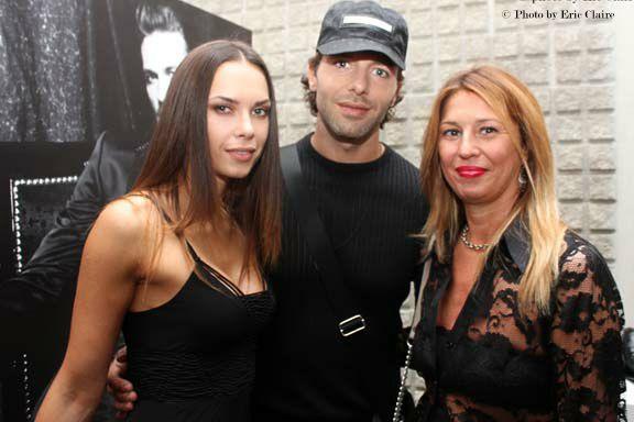 Francesco Testi e la fidanzata Giulia Rebel, la blogger Cristina Lodi