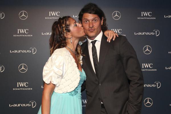 La Fashion Blogger Cristina Lodi e Aldo Montano, Mercedes Benz, Fondazione Laureus