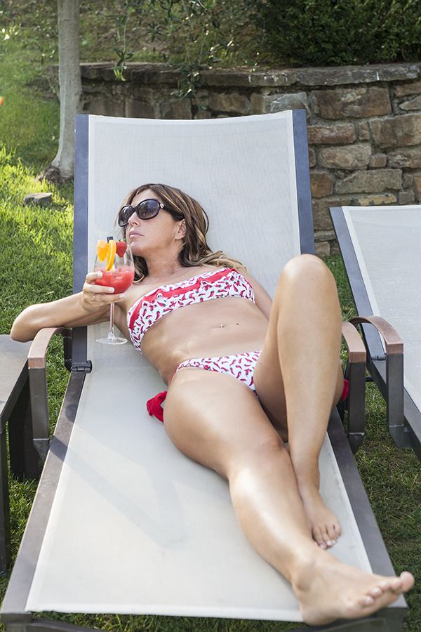 Cotazur Beachwear, Cristina Lodi, Fashion Blogger, Villa la Borghetta, figline valdarno, fashion blogger italia, bikini