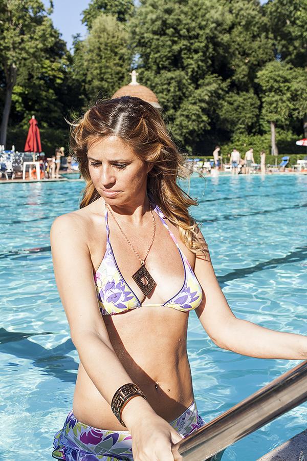 Cristina Lodi, 2 fashion sisters, fashion blogger, gioielli zoppini, bikini parah, firenze