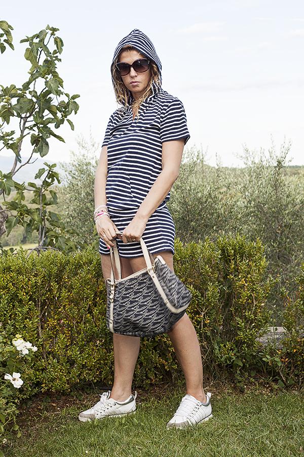 Cristina Lodi, borsa gucci, villa la borghetta, occhiali moschino