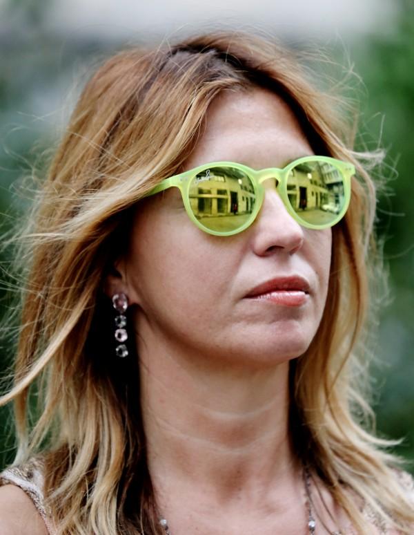 Cristina Lodi, occhiali joshua fenu, 2 fashion sisters