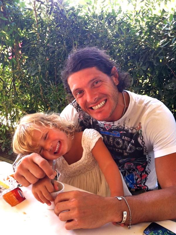 A Montano e la nipotina Matilde