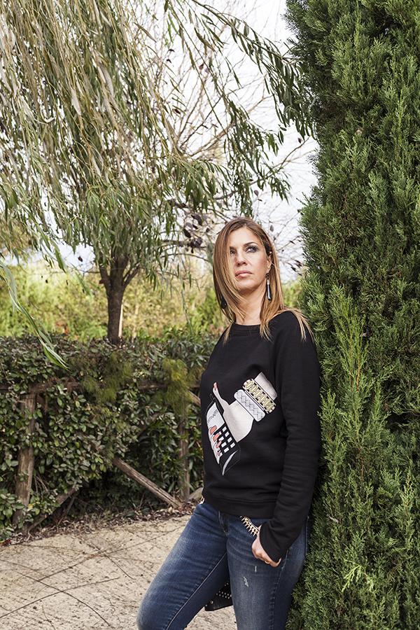 Cristina Lodi, Jeans CristinaEffe, 2 fashion sisters, fashion blogger italia
