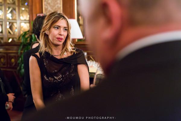 Cristina Lodi, abito CristinaEffe, Hotel Principe di Savoia, Milano, 2 fashion sisters