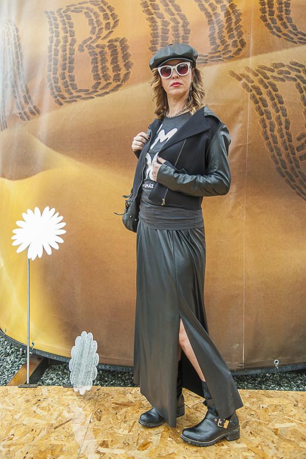 Cristina Lodi, cappello Doria 1905, 2 fashion sisters, Happiness Brand, Athina Lux, boots, Emanuelle Vee