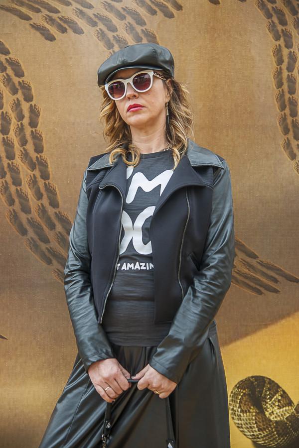Cristina Lodi, fashion blogger, Club Voltaire, Happiness, Athina Lux, pitti uomo, 2 fashion sisters