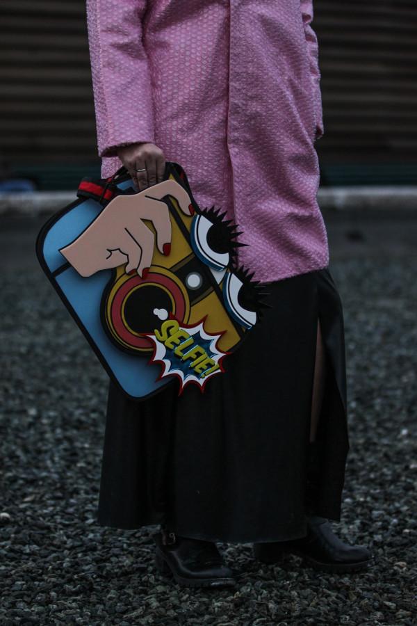 Cristina Lodi, street style, fashion blogger, Richkids, boots, pitti 87