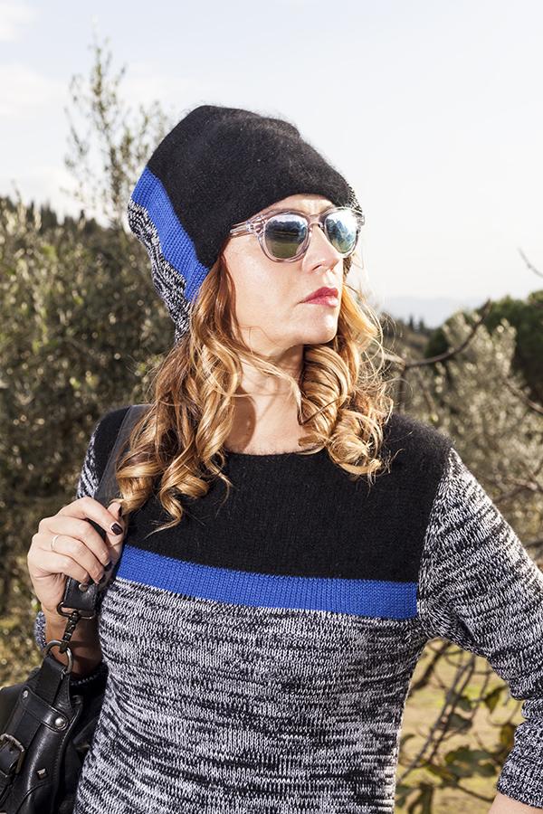 Cristina Lodi, 2 fashion sisters, fashion blogger, abito di lana CristinaEffe