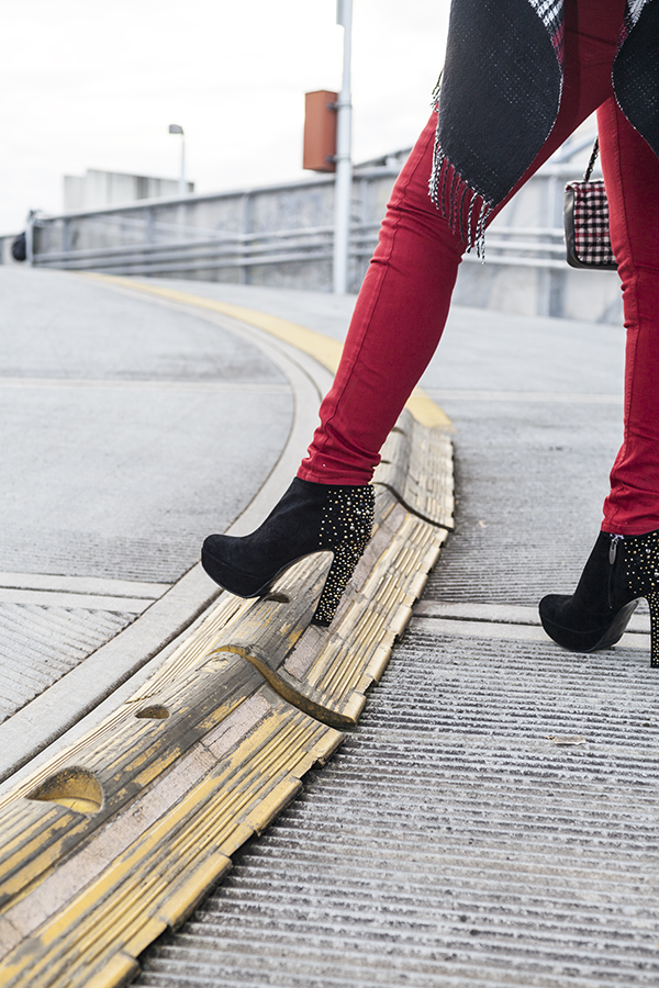 Cristina Lodi, pantaloni kaos, tronchetto luciano barachini, 2 fashion sisters