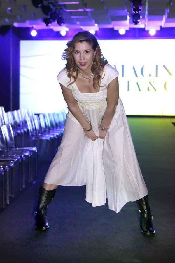 Cristina Lodi, scarpe luciano barachini, 2 fashion sisters, grazia 'lliani, immagine italia