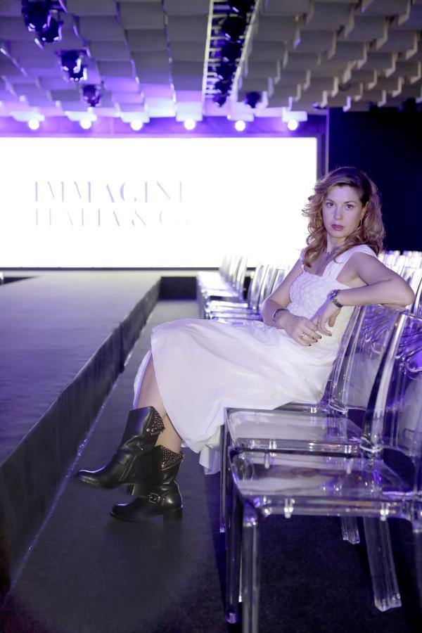 Cristina Lodi,boots luciano barachini, 2 fashion sisters, grazia 'lliani, immagine italia