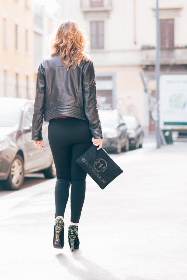 Cristina Lodi, 2 fashion sisters, pantalone janira, giubbotto cristinaeffe, scarpe luciano barachini