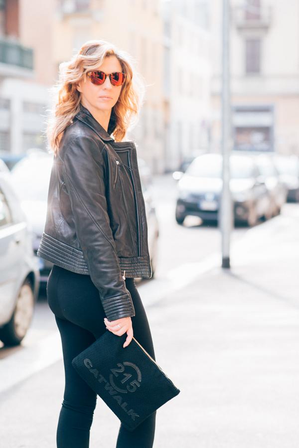 Cristina Lodi, 2 fashion sisters, leggings janira, giubbotto cristinaeffe