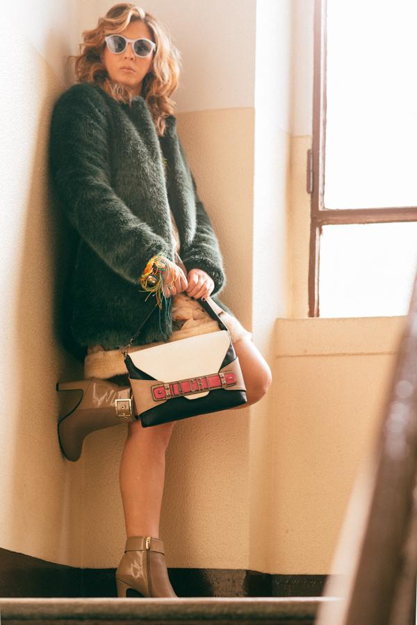 Cristina Lodi, stivale luciano barachini, selfiebag, 2 fashion sisters, occhiali athina lux