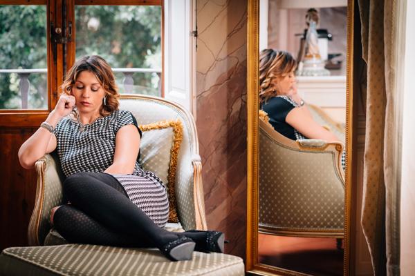 Cristina Lodi, CristinaEffe, look da ufficio, Villa Olmi, scape Loriblu