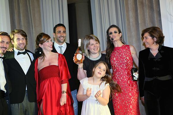Infant Charity Award, Palazzo Parigi, 2 fashion sisters, Adil Rami, Cristina Lodi, Cristina De Pin, Susanna Rossi, Alessandro Caccia, charity
