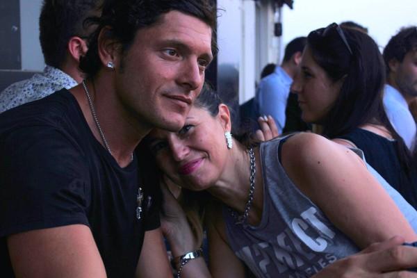 Aldo Montano e Cristina Lodi, friends, party ezviz