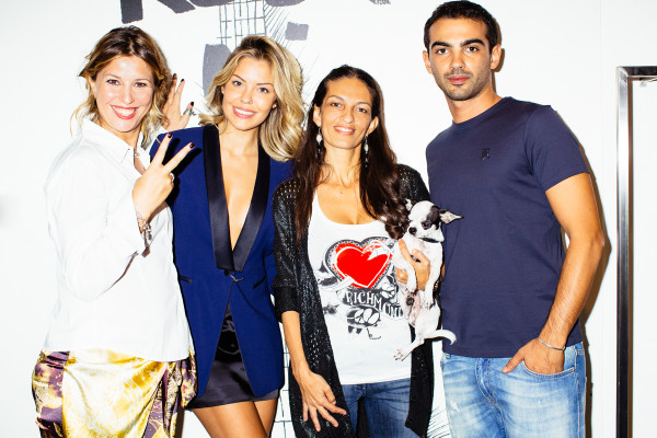 John Richmond, Cristina Lodi, Costanza Caracciolo, Alessandra Moschillo, Golden Sabre