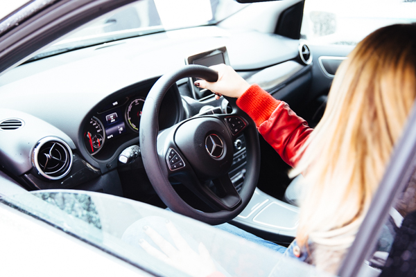 Mercedes Benz, classe B Electric, Cristina Lodi, io sono elettrica