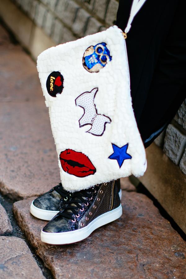 cristina lodi, borsa cristinaeffe, sneakers stokton, mfw