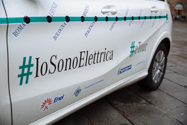 tour #IoSonoElettrica