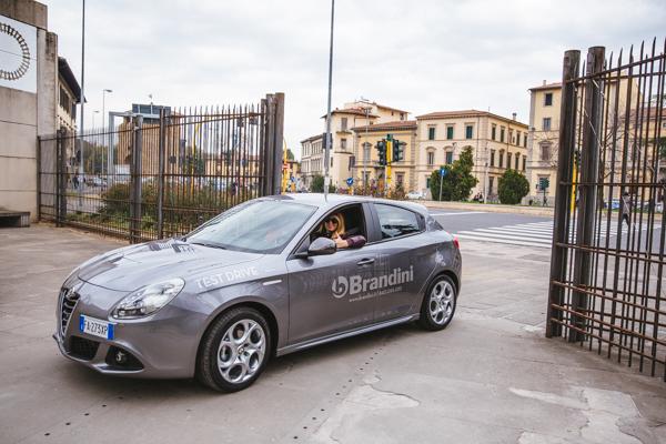 Alfa Romeo Giulietta, firenze