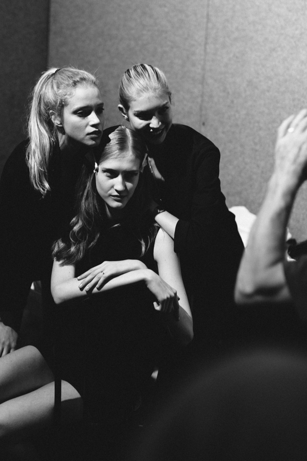 Byblos back stage, mfw, 2 fashion sisters