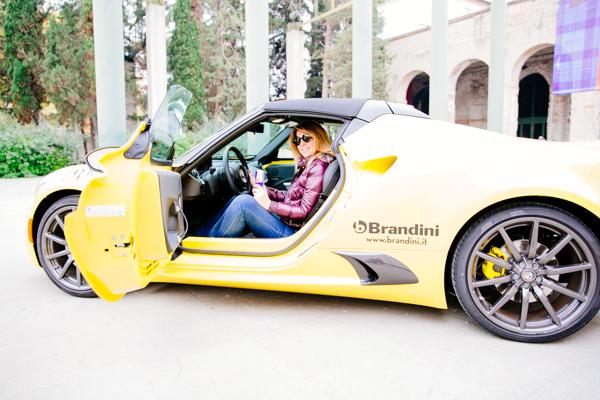 Cristina Lodi, Test Drive Alfa Romeo