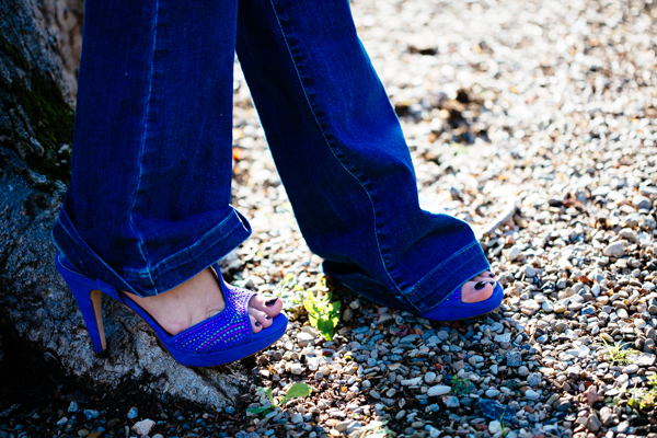 Cristina Lodi, jeans roy rogers, 2 fashion sisters, sandali pietro ferrante