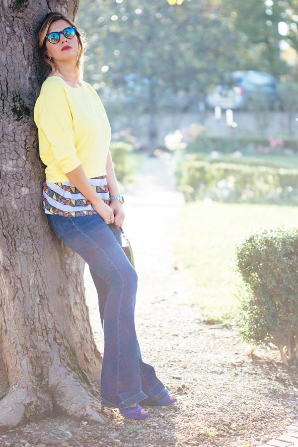 Cristina Lodi, jeans roy roger's, fabriano boutique, felpa retaper