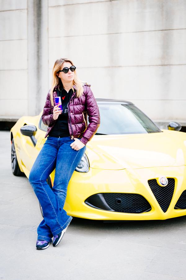 Test Drive Alfa Romeo, Cristina Lodi, Piero Guidi, Asics, Roy Roger's, 2 fashion sisters