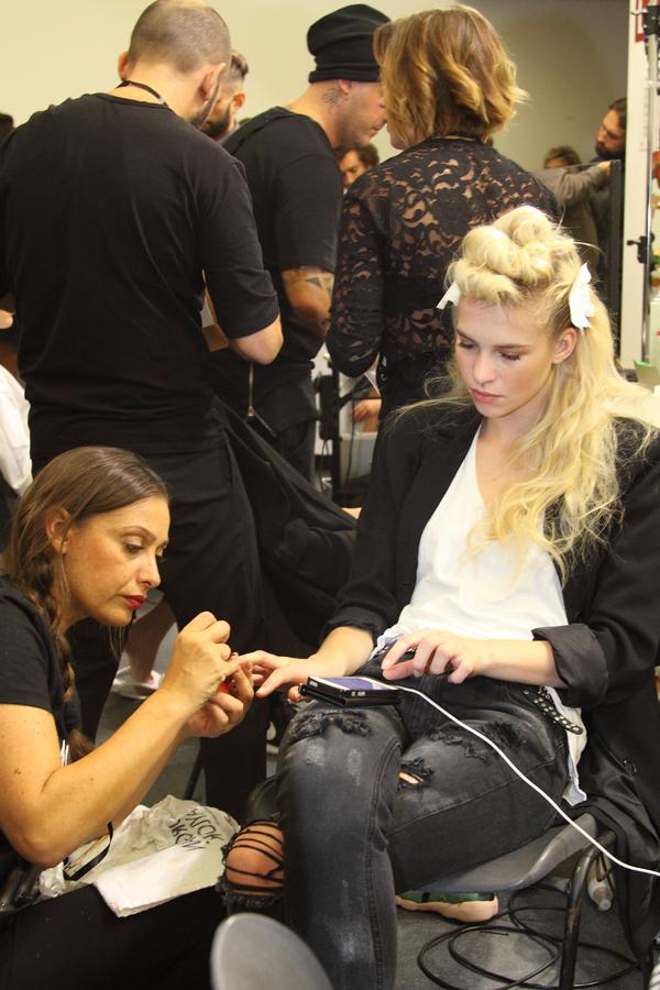 back stage sfilata stella jean, 2 fashion sisters.j