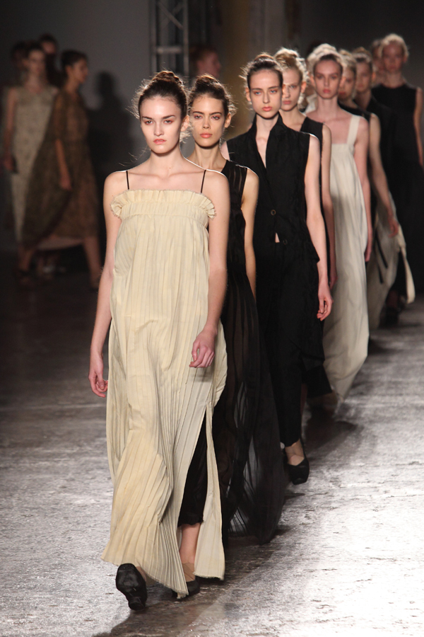 gran finale uma wang, mfw, 2 fashion sisters