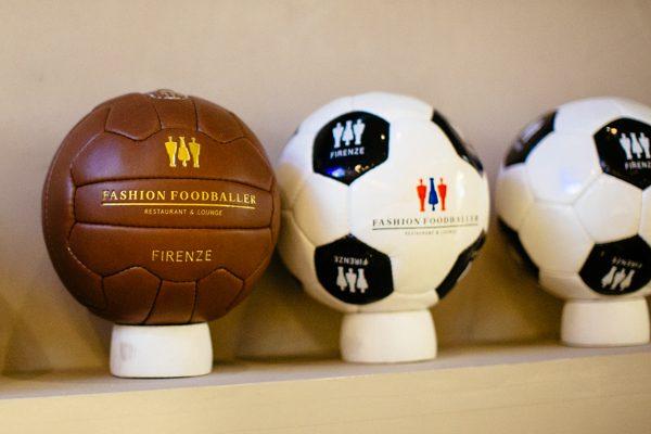 palloni da calcio, risotrante firenze