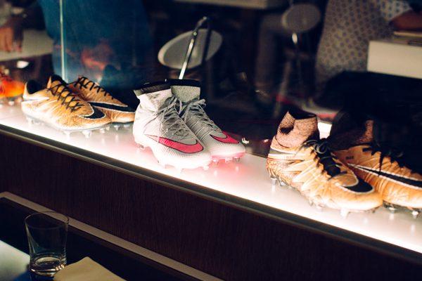 scarpe calcio, ristorante firenze