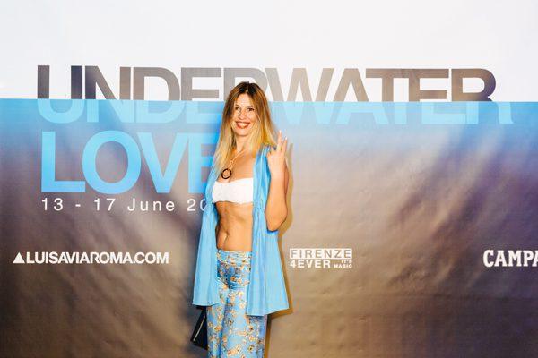 Cristina Lodi, UnderWater Love, pitti uomo 90, Lvr, Grazialliani
